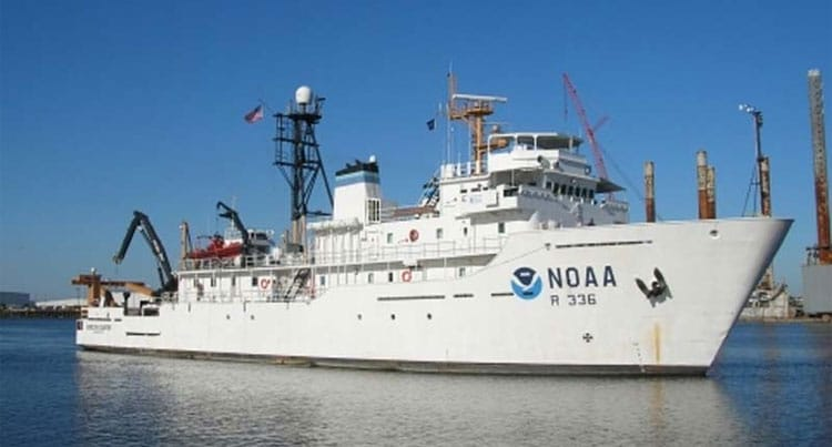 Blue Water Desalination Provides Endless Pure Water to NOAA Research Vessel